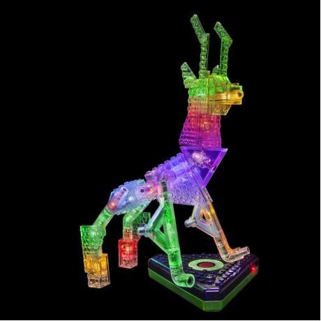 Светящийся конструктор Laser Pegs - Животные 12 в 1