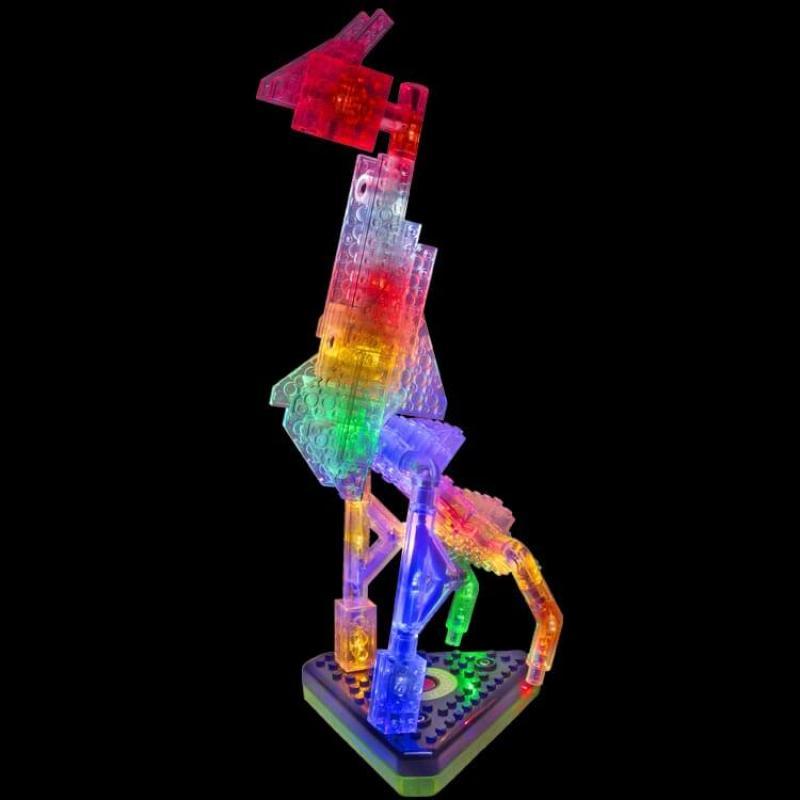 Светящийся конструктор Laser Pegs - Животные 12 в 1 фото