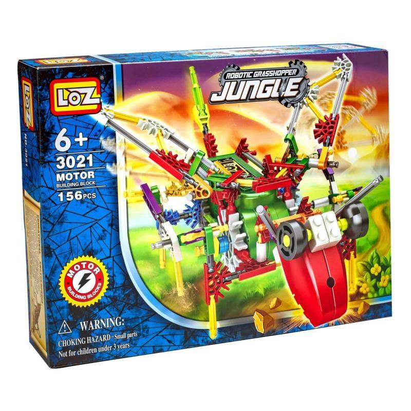 Электромеханический конструктор Loz Jungle IRobot - Дракон фото