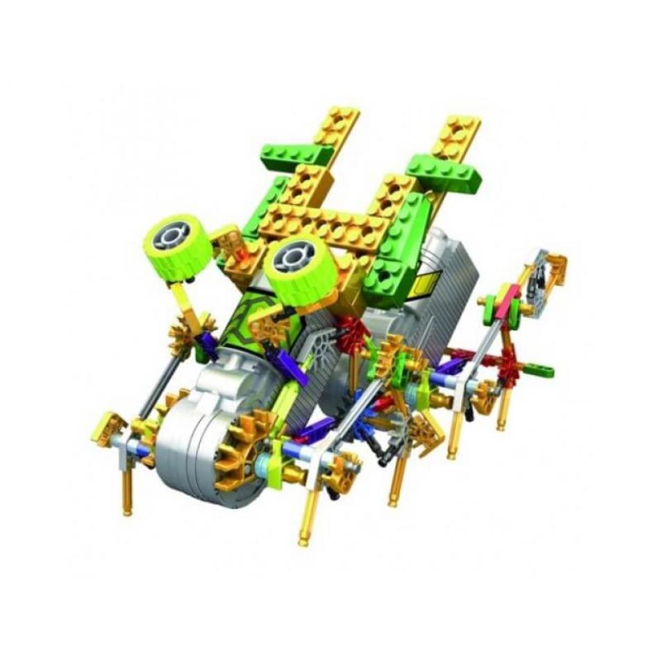 Электромеханический конструктор Loz Jungle IRobot - Восьминожка