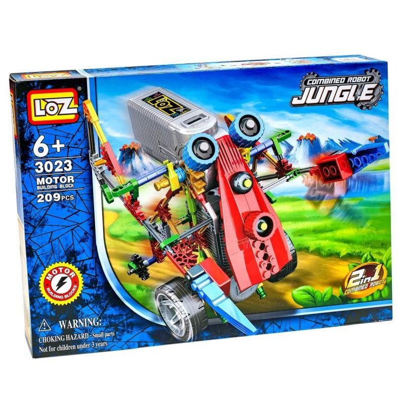 Электромеханический конструктор Loz Jungle IRobot - Погрузочник фото