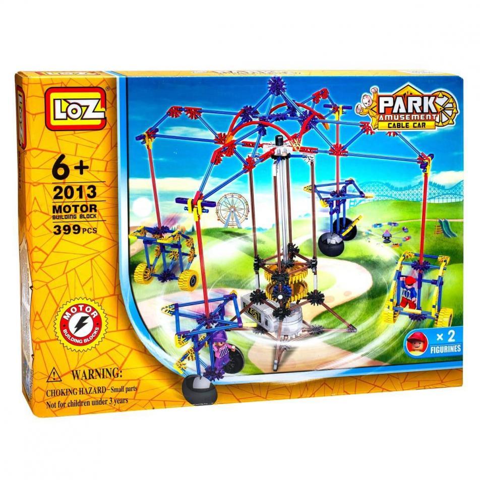 Электромеханический конструктор Loz Park - Качели для двоих