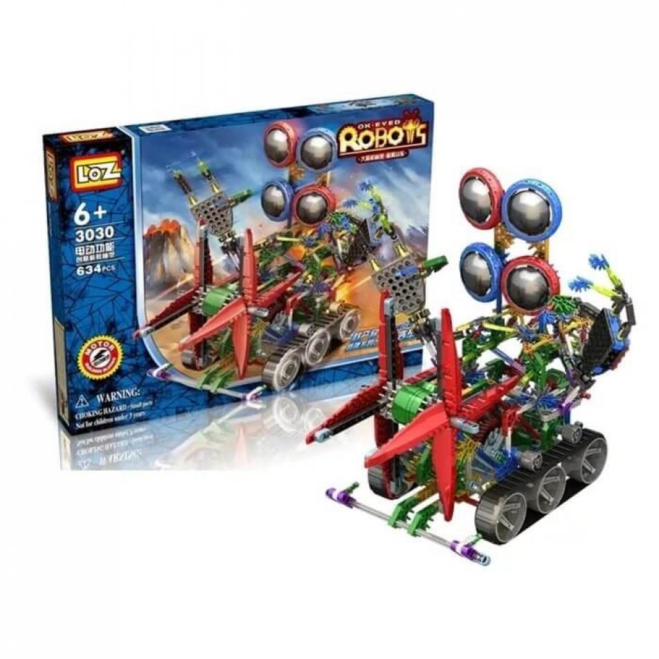 Электромеханический конструктор Loz Robots IRobot - Четырёхглазик