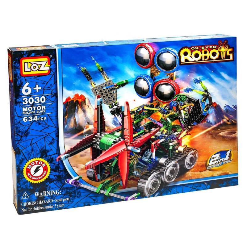 Электромеханический конструктор Loz Robots IRobot - Четырёхглазик фото