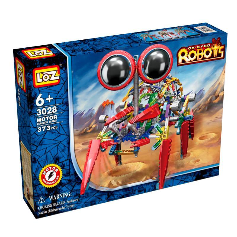 Электромеханический конструктор Loz Robots IRobot - Крабс фото