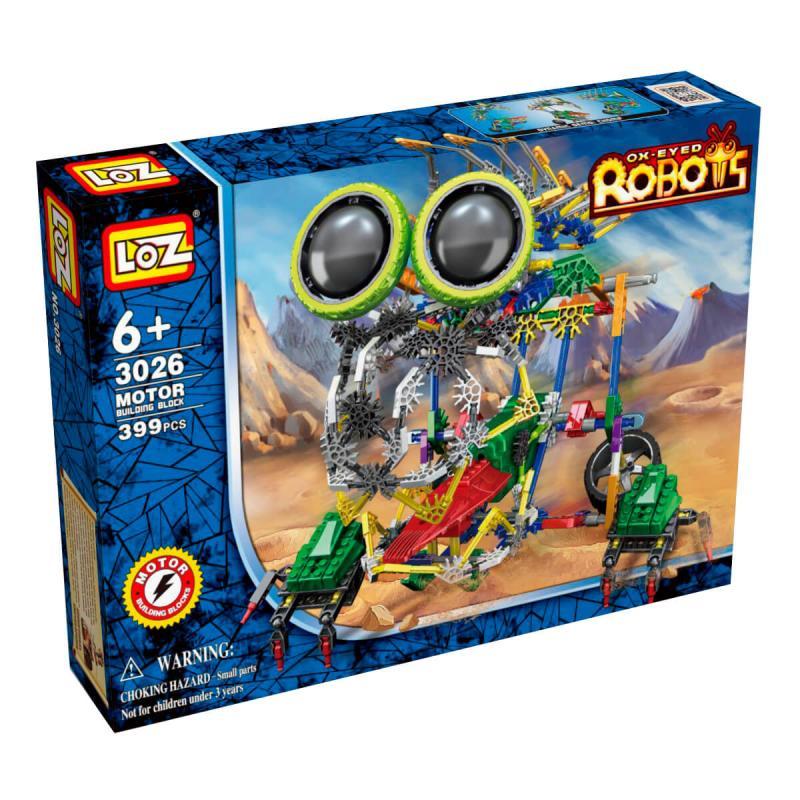 Электромеханический конструктор Loz Robots IRobot - МегаЛап фото