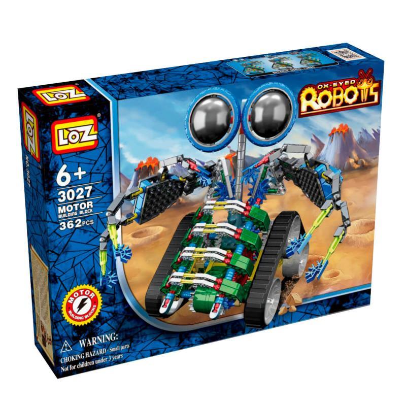 Электромеханический конструктор Loz Robots IRobot - МотоЛокатор фото