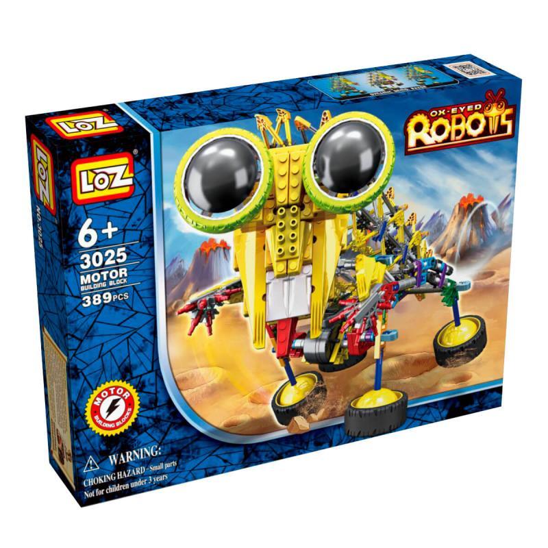 Электромеханический конструктор Loz Robots IRobot - Шиношлеп фото