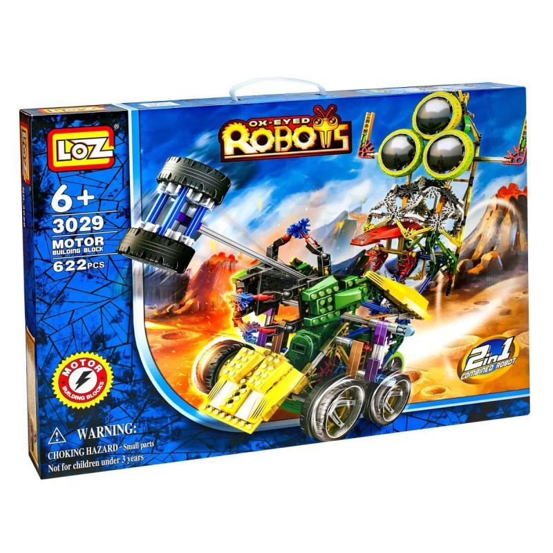 Электромеханический конструктор Loz Robots IRobot - Трёхглазик фото