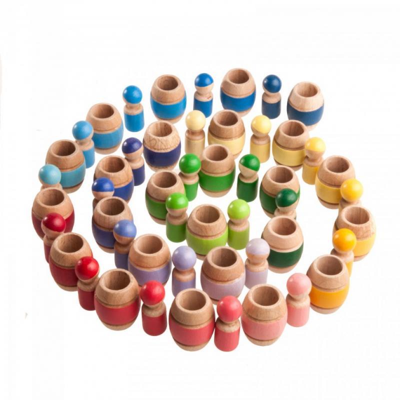 Развивающая игра Леснушки - Гномики в бочонках фото