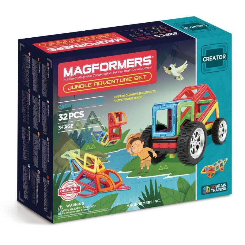 MAGFORMERS Adventure Jungle Set фото