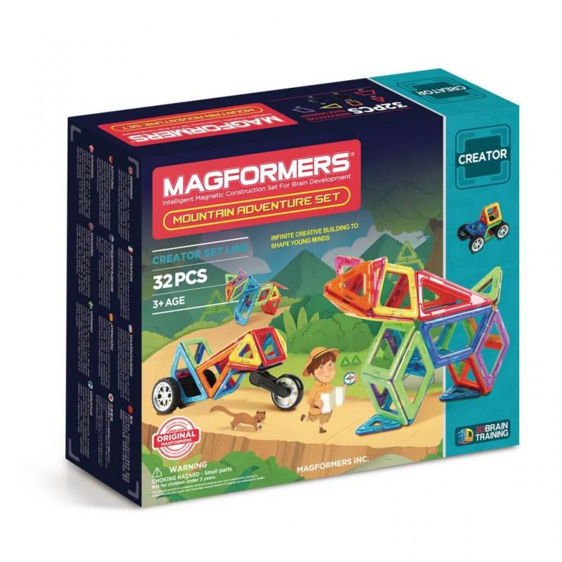 MAGFORMERS Adventure Mountain Set фото