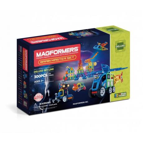 MAGFORMERS Brain Master set
