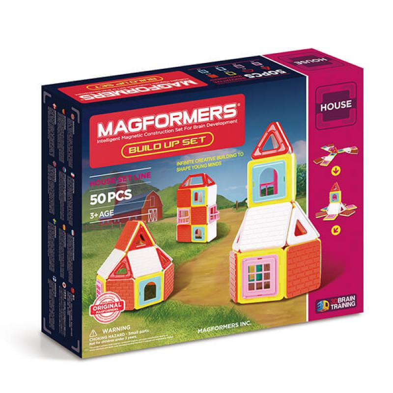 MAGFORMERS Build Up Set фото