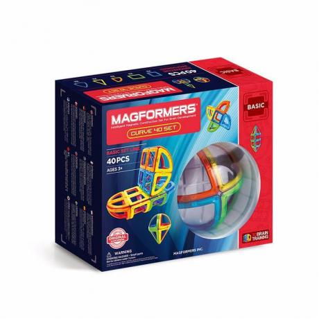 MAGFORMERS Curve Set 40