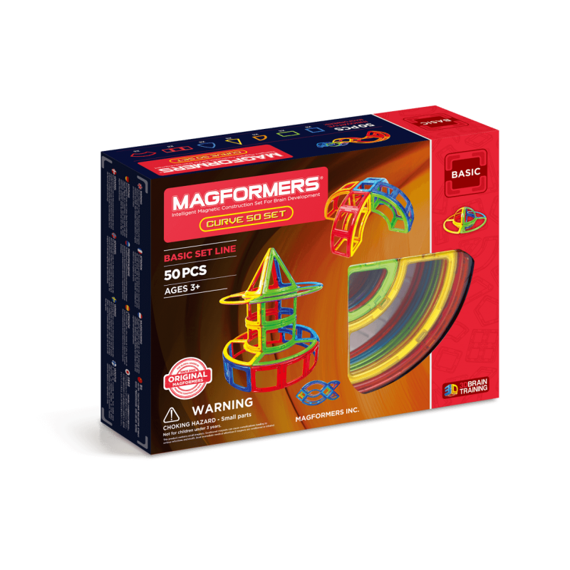 MAGFORMERS Curve Set 50