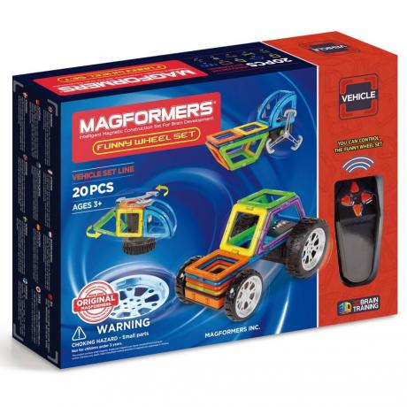 Магнитный конструктор MAGFORMERS Funny Wheel Set