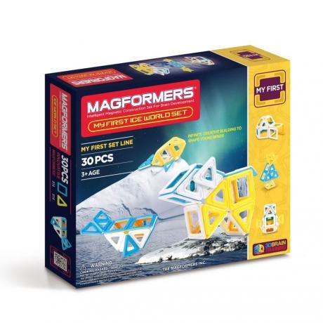 Магнитный конструктор MAGFORMERS Ice World Set