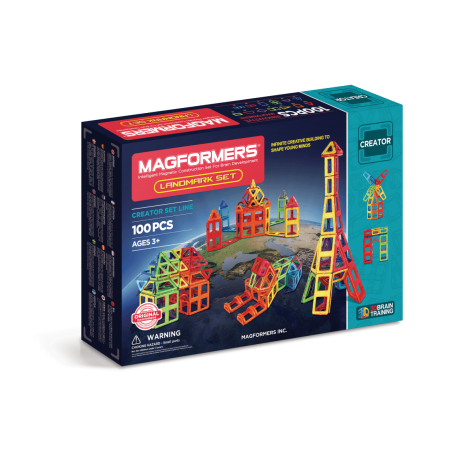 MAGFORMERS Landmark Set
