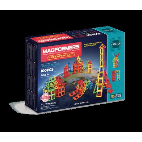 Магнитный конструктор MAGFORMERS Landmark Set