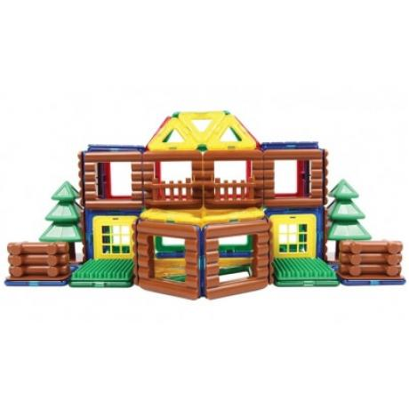 MAGFORMERS Log House Set