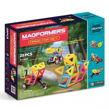 Магнитный конструктор MAGFORMERS Magic Pop Set