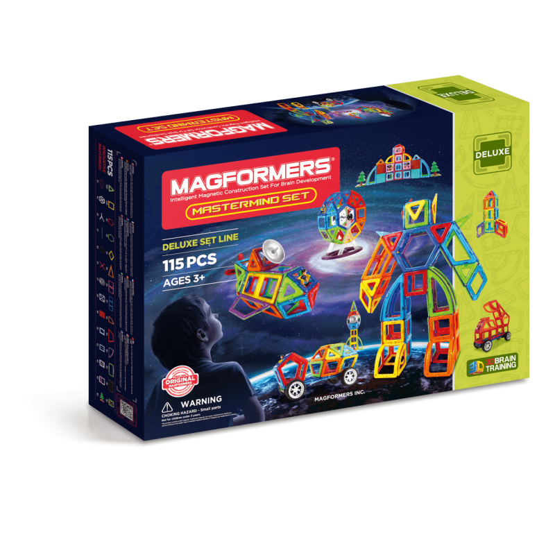 MAGFORMERS Mastermind Set фото