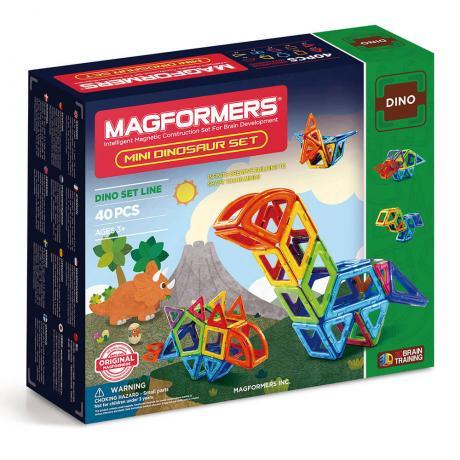 Магнитный конструктор MAGFORMERS Mini Dinosaur Set