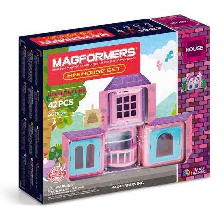 Магнитный конструктор MAGFORMERS Mini House Set