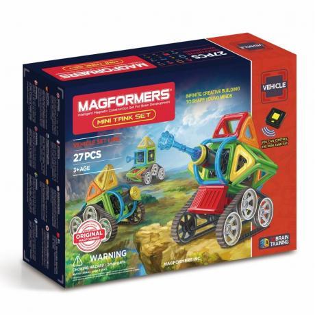Магнитный конструктор MAGFORMERS Mini Tank Set