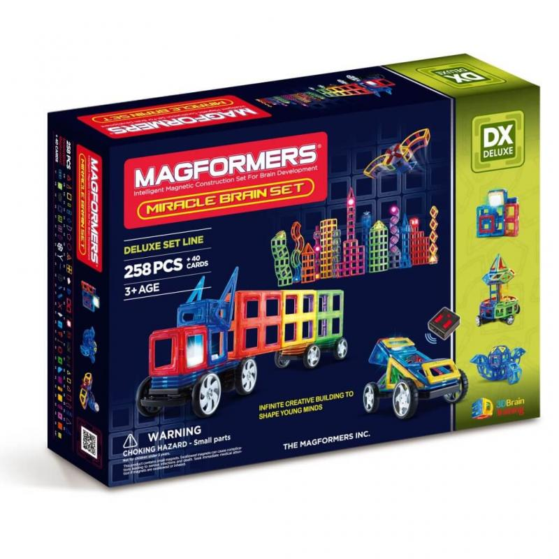 MAGFORMERS Miracle Brain Set фото