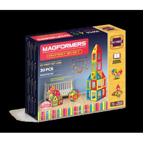 Магнитный конструктор MAGFORMERS My First Magformers 30