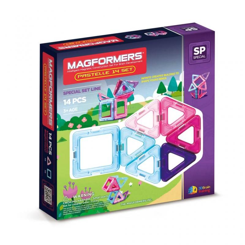 MAGFORMERS Pastelle Set 14 фото