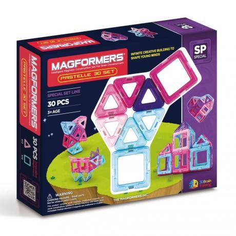 Магнитный конструктор MAGFORMERS Pastelle Set 30