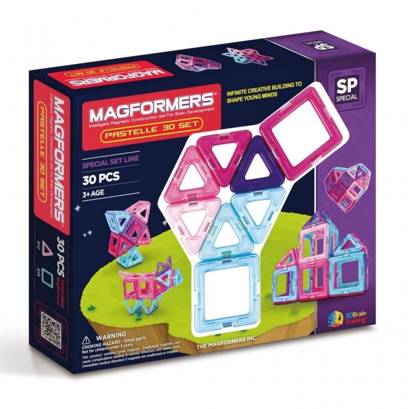 MAGFORMERS Pastelle Set 30 фото