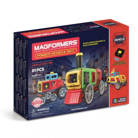 Магнитный конструктор MAGFORMERS Power Vehicle Set