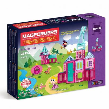 MAGFORMERS Princess Castle Set