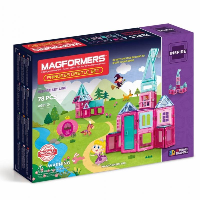MAGFORMERS Princess Castle Set фото