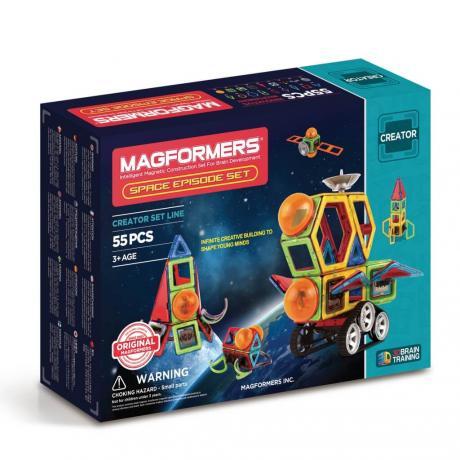 Магнитный конструктор MAGFORMERS Space Episode Set