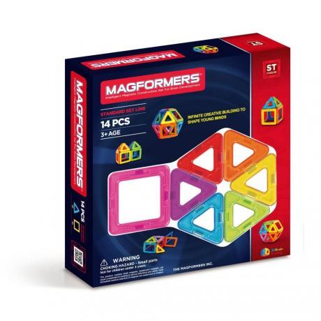 Магнитный конструктор MAGFORMERS Standard Set 14
