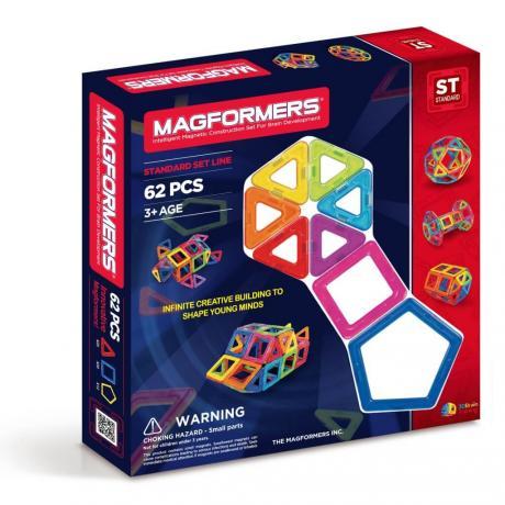 Магнитный конструктор MAGFORMERS Standard Set 62