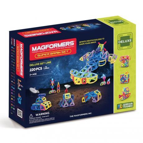 Магнитный конструктор MAGFORMERS Super Brain Up Set