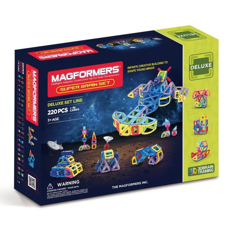 MAGFORMERS Super Brain Up Set фото