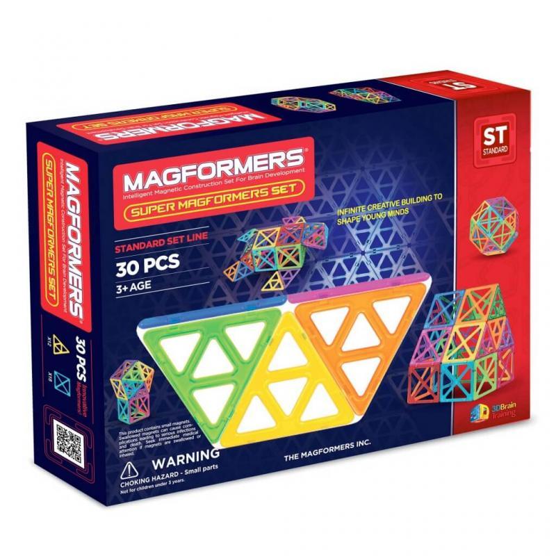 MAGFORMERS Super Set 30 фото