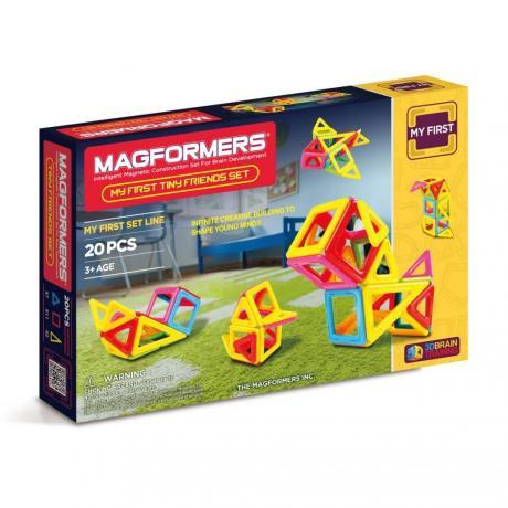 Магнитный конструктор MAGFORMERS Tiny Friends Set
