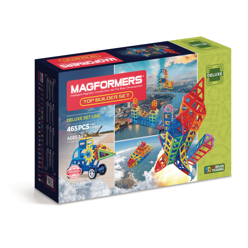 MAGFORMERS Top Builder Set фото