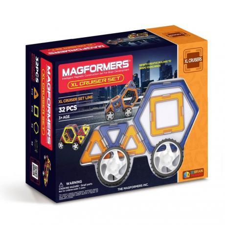 Магнитный конструктор MAGFORMERS Xl Cruisers Set