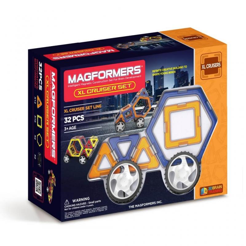 MAGFORMERS Xl Cruisers Set фото