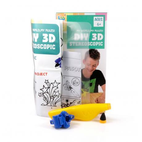 3D Magic Glue (1 ручка в наборе) - трафарет Космический корабль