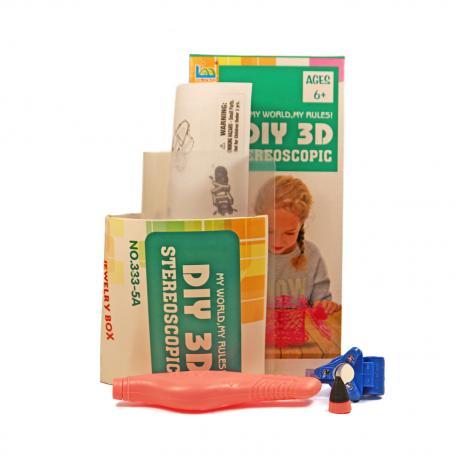 3D Magic Glue (1 ручка в наборе) - трафарет Шкатулка